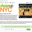 Shape Up New York